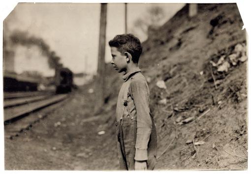 vintage photo of a boy