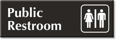 Public-Restroom-Engraved-Sign-SE-2759